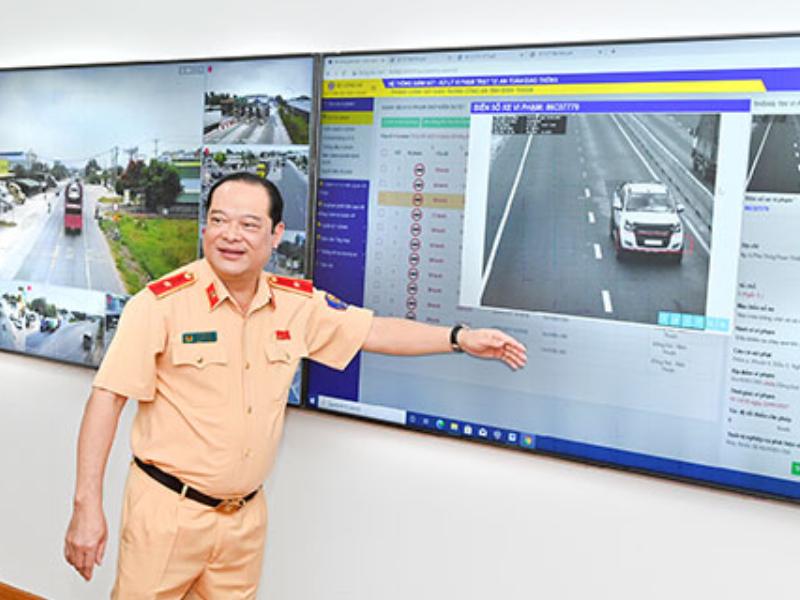 Hệ thống camera bắn tốc độ hiện đại tại Bình Thuận