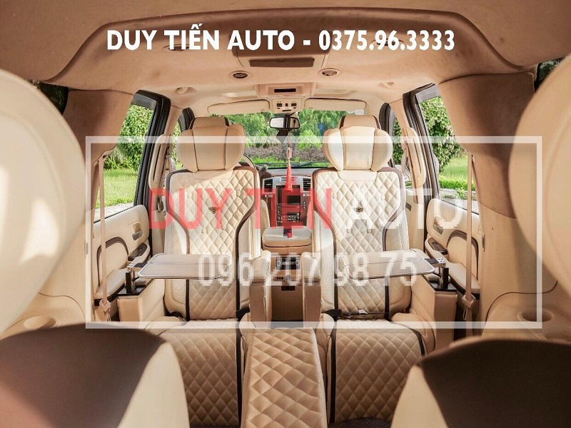 Nội thất ô tô Duy Tiến cung cấp chất lượng kèm dịch vụ chất lượng