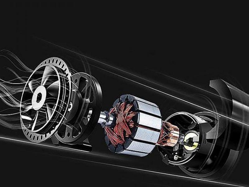 Bơm điện ô tô Baseus với công nghệ hiện đại cho công suất bơm hơi mạnh mẽ