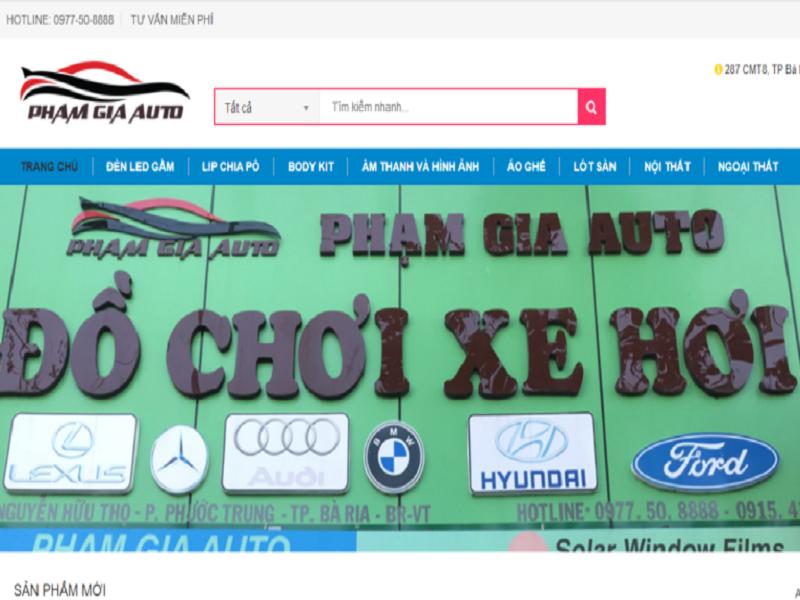 Phạm Gia Auto - Một địa chỉ gắn liền với đông đảo người tiêu dùng