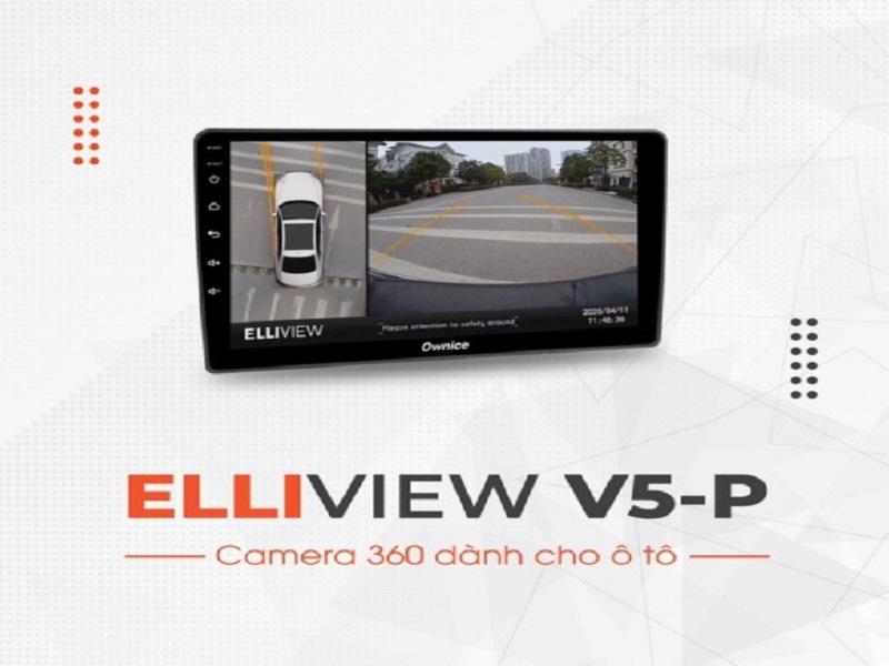Camera 360 độ ô tô Elliview V5P