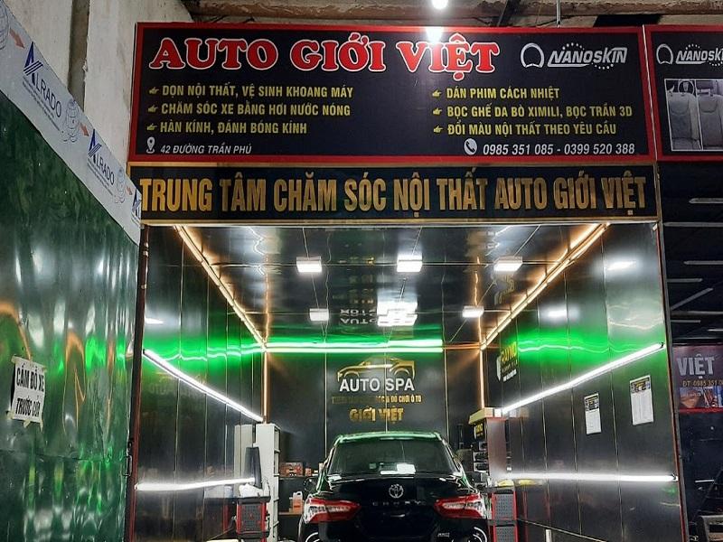 Nội thất ô tô Cẩm Phả Giới Việt Auto chuyên cung cấp phụ kiện và dịch vụ đạt chuẩn