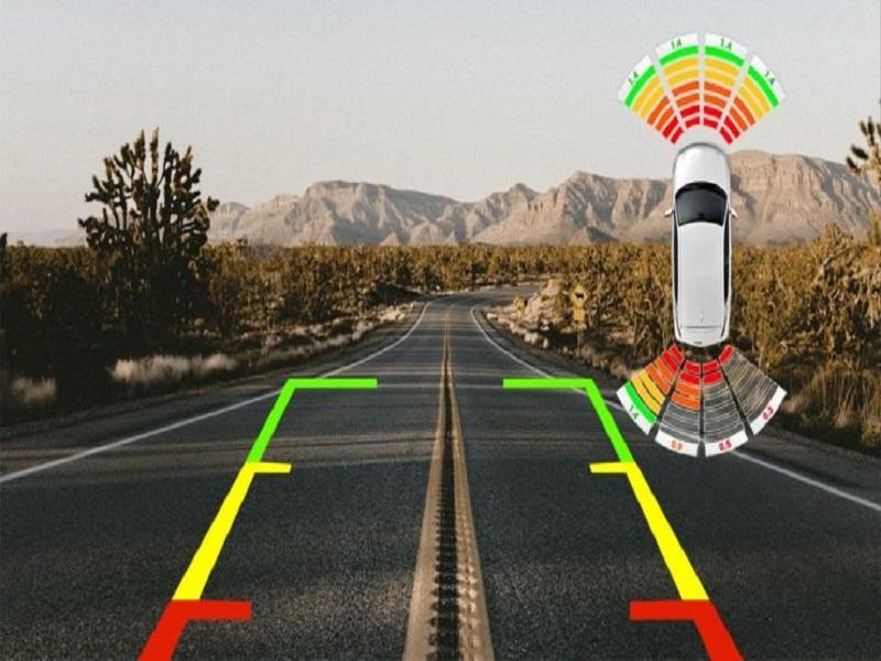 Dễ dàng phát hiện khoảng cách giữa xe và vật cản bởi hệ thống cảm biến va chạm