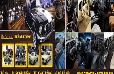 Nội thất ô tô Cao Bằng Hoàng Cường mang lại cho người tiêu dùng một chiếc xe đẳng cấp