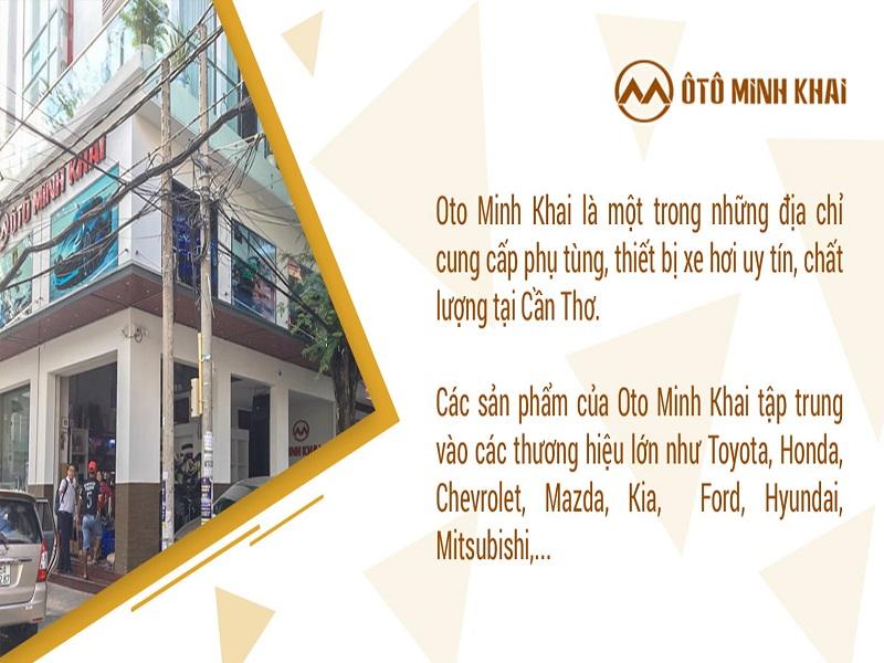 Nội thất ô tô Minh Khai đem đến những dịch vụ tốt nhất cho người tiêu dùng