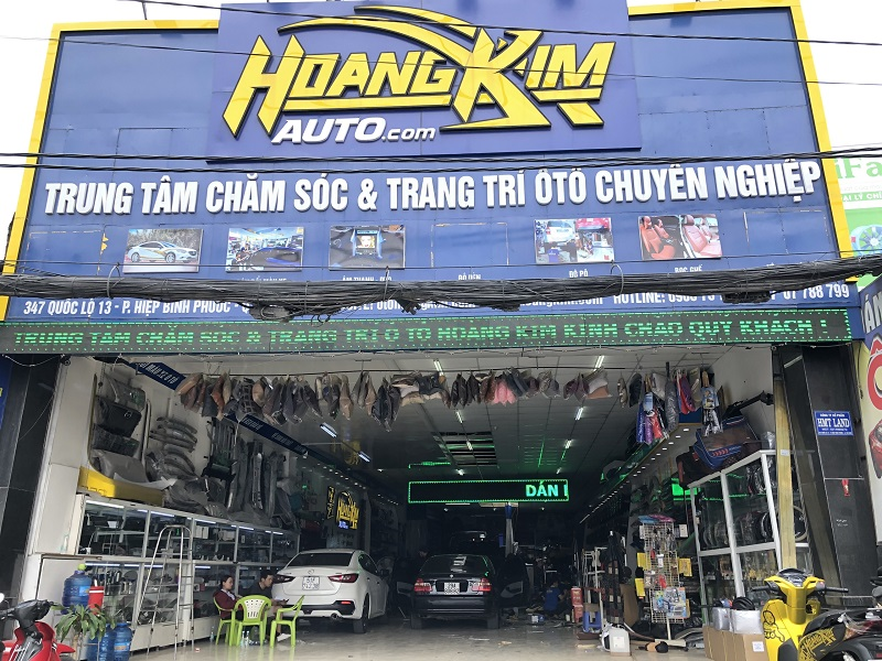 Nội thất ô tô Hoàng Kim sẵn sàng phục vụ quý khách hàng