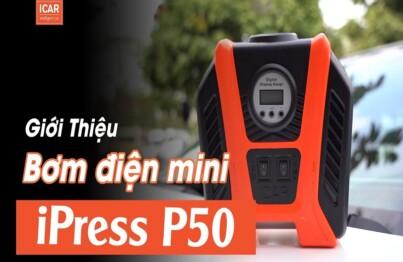 Bơm điện mini iPress P50 là loại bơm điện ô tô bán chạy nhất 6/2021