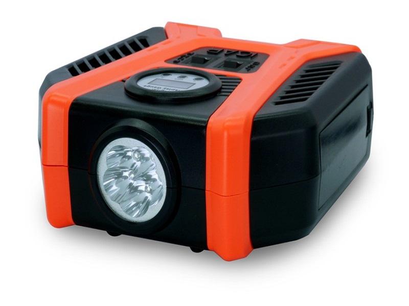 Bơm điện iPress P50 hỗ trợ đèn pin siêu tiện lợi