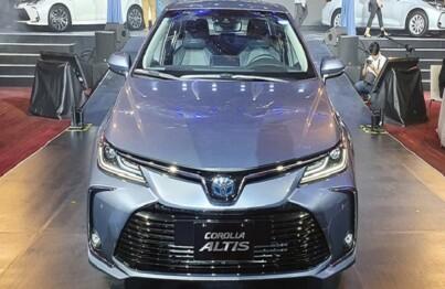 Nâng cao tiện ích cho chiếc xe Toyota Corolla Altis