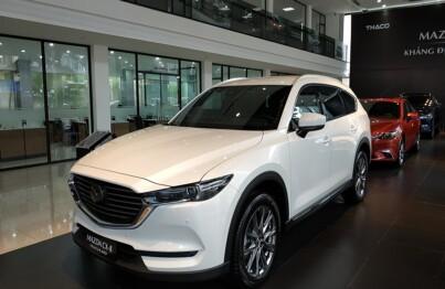 Trải nghiệm công nghệ đẳng cấp cùng Mazda CX8 Premium AWD