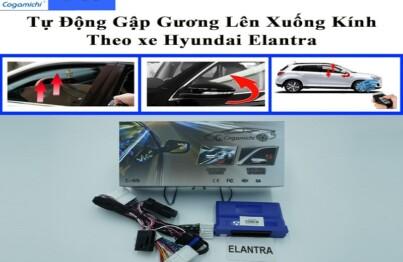 Bộ gập gương lên kính Cogamichi C55 theo xe Hyundai Elantra