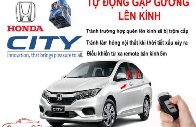 Gập gương lên kính - công nghệ tự động dành cho Honda City