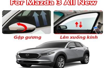 Gập gương lên kính tự động dành cho ô tô Mazda 3