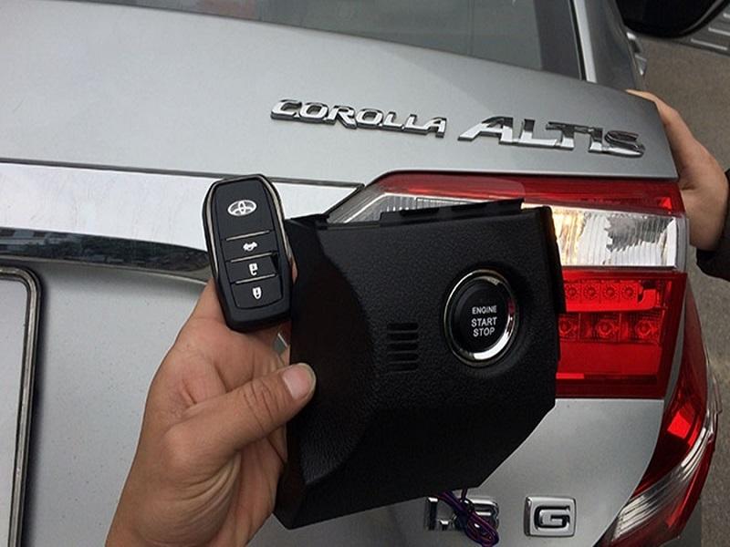 Chìa khóa thông minh Smartkey Ntek cho ô tô Toyota Corolla Altis