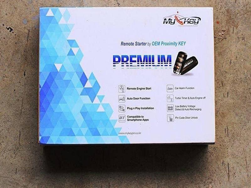 Chìa khóa thông minh Mykey Premium chất lượng dành cho xe i10
