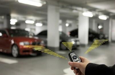 Tìm kiếm xe dễ dàng với chìa khóa thông minh