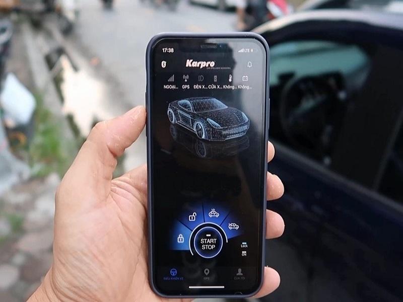 Tính năng kết nối với điện thông minh của chìa khóa thông minh Karpro