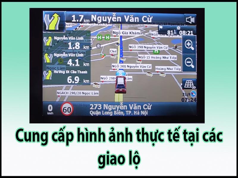 Tính năng thông minh của bản đồ VietMap S1
