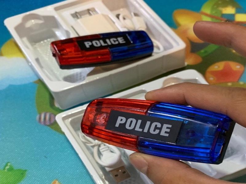 Đèn chớp cảnh sát mini