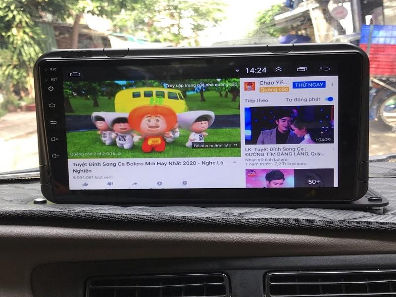 Giải trí thoải mái với màn hình DVD Android