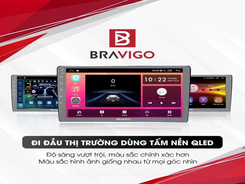 Màn hình DVD Android Bravigo cao cấp