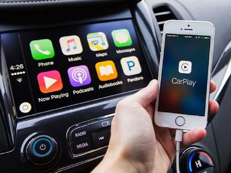 Kết nối Bluetooth với màn hình xe tải bằng điện thoại