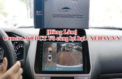 Camera 360 DCT được đánh giá cao về chất lượng