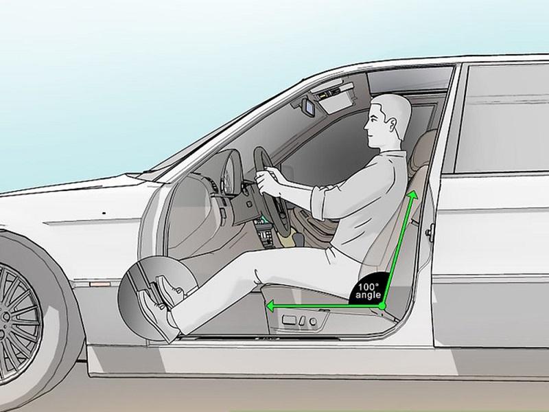 Độ nghiêng tựa ghế phù hợp tạo nên cảm giác thoải mái khi lái xe