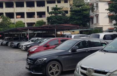 bãi đậu xe bệnh viện da liễu