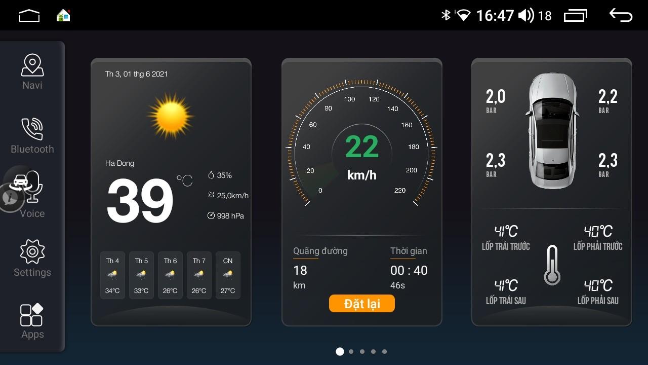 Giao diện Elligo của màn hình Elliview U4 và S4